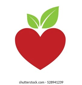 Download Heart Shaped Apple Images, Stock Photos & Vectors ...
