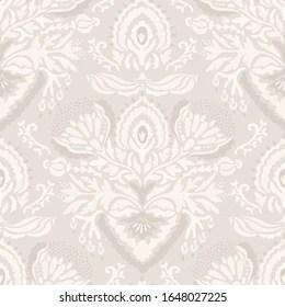 https www shutterstock com image vector seamless medallion pattern french cream linen 1648027225