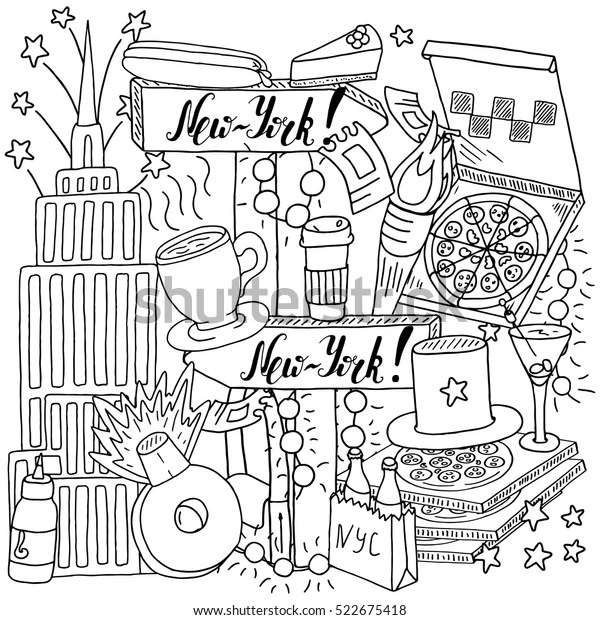 new york coloring pages # 11