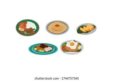 Indonesian Food Cartoon Images Stock Photos Vectors Shutterstock