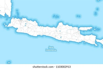 Java Island Map High Res Stock Images Shutterstock