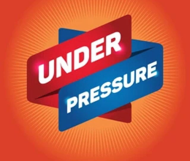 Under Pressure Arrow Tag Sign