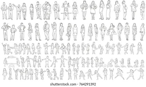 Sketch People Images Stock Photos Vectors Shutterstock
