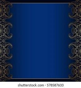 https www shutterstock com image vector vector vintage floral decorative background design 578587633