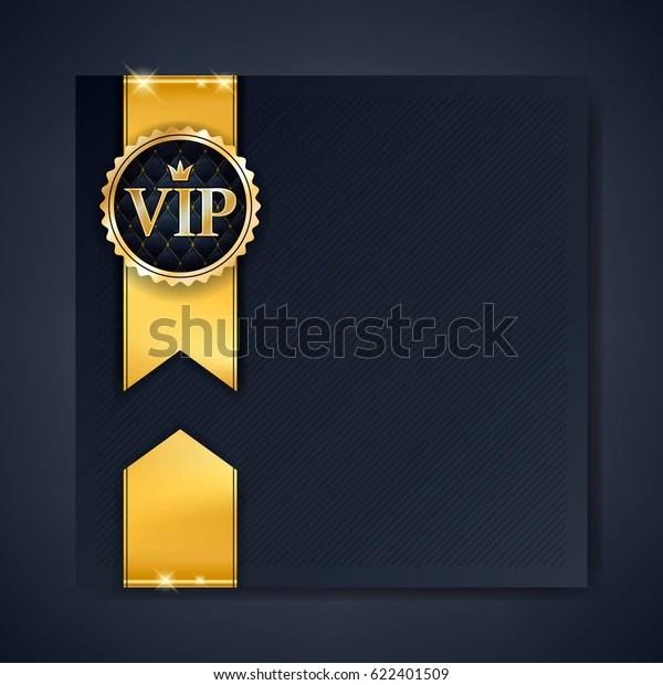 https www shutterstock com image vector vip club party premium invitation card 622401509