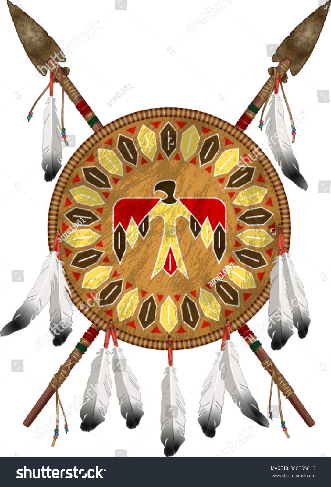 Native American Shields Worksheet
