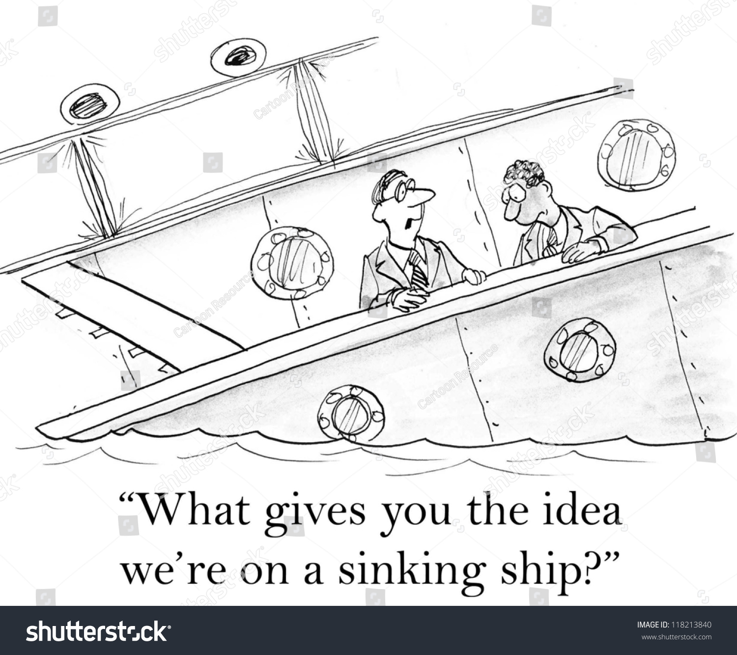 What Gives You The Idea We Re On A Sinking Ship Stock
