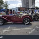 Classic Car Show Miami Florida Usa Stock Photo Edit Now 1090421579