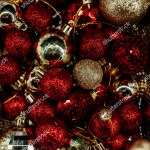 Red Gold Christmas Tree Decorations Christmas Stock Photo Edit Now 781483870