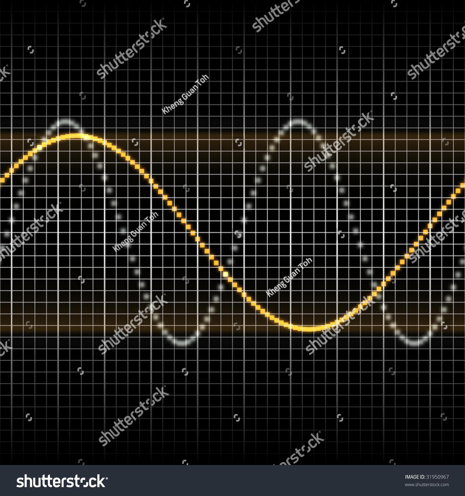 Graph Sine Waves Sound
