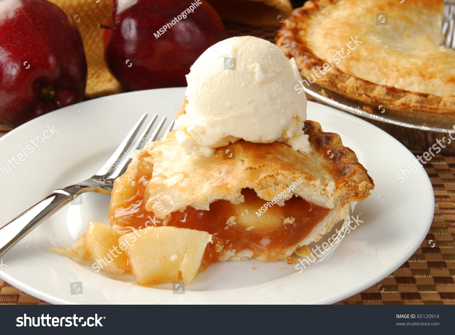 Image result for pie and ice cream