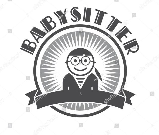 Babysitter Avatar Portrait Picture User Profile Retro Theme