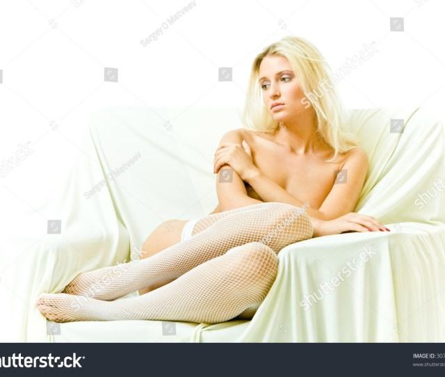 Beautiful Nacked Girl In Chair