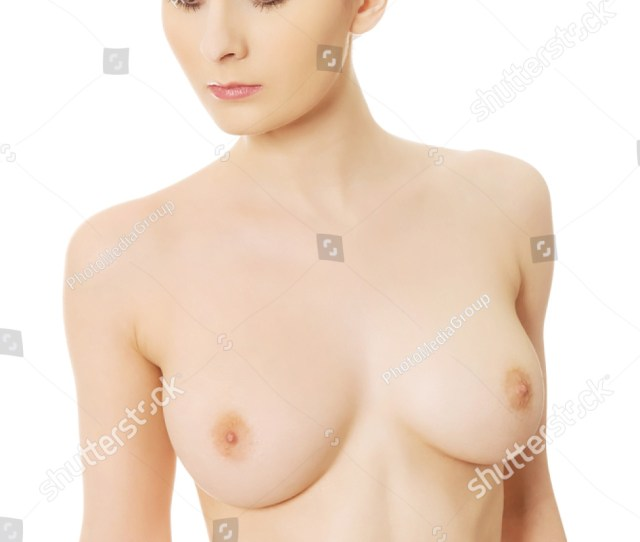 Beautiful Woman With Naked Breast