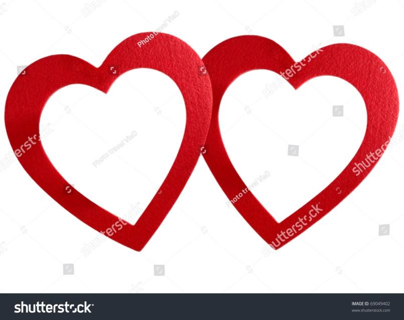 Exelent Big Heart Picture Frame Vignette - Picture Frame Design ...