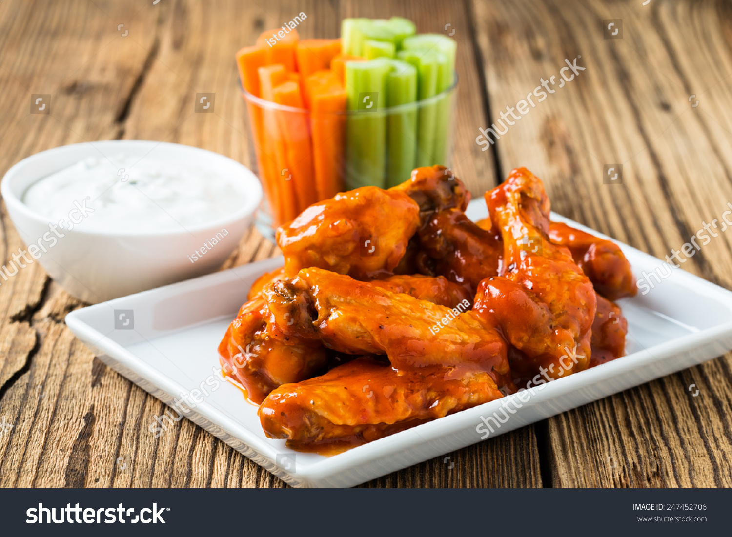 Sauce Blue Dipping Buffalo Wings Cheese