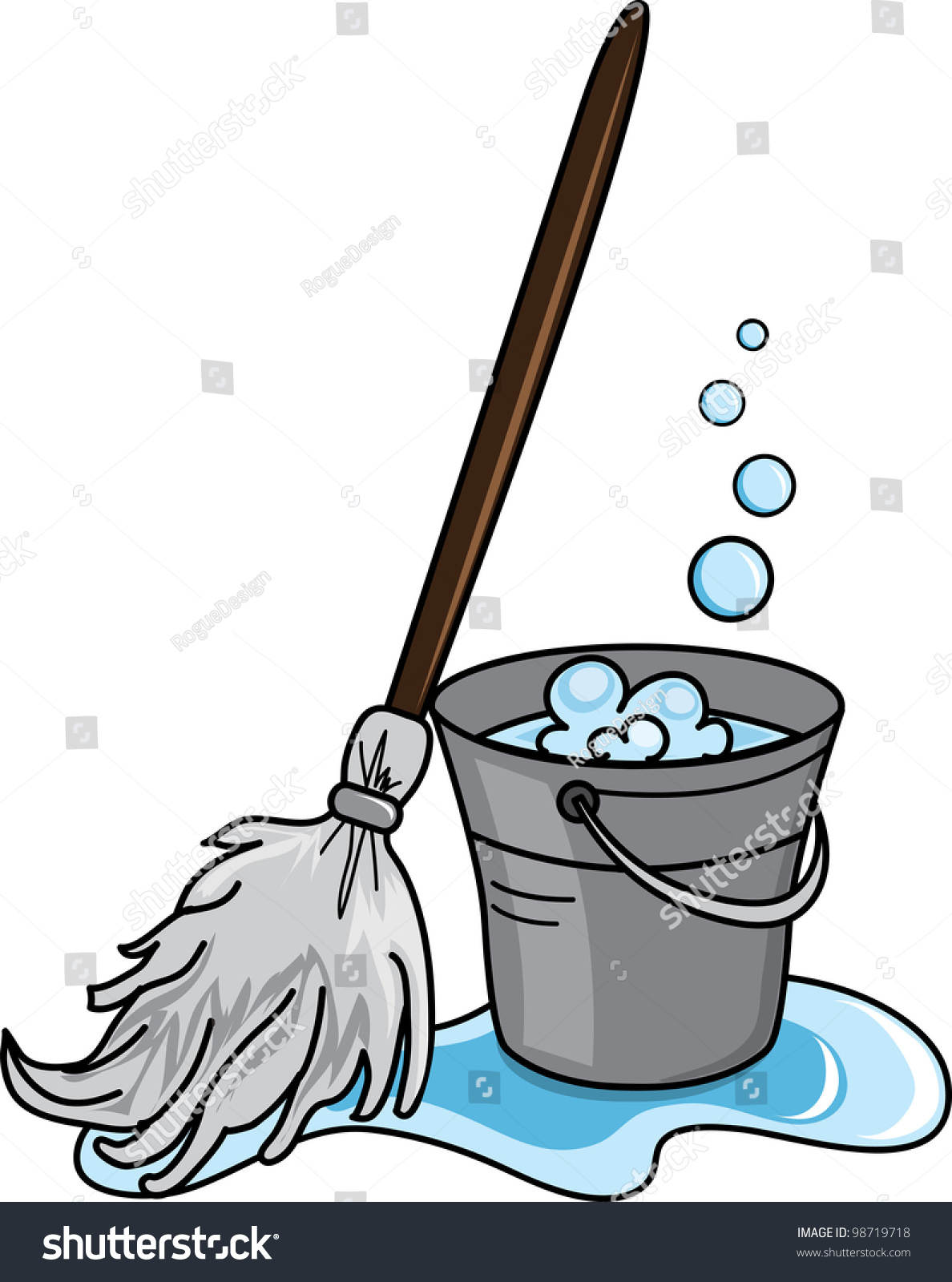 Cleaning Bucket Clip Art