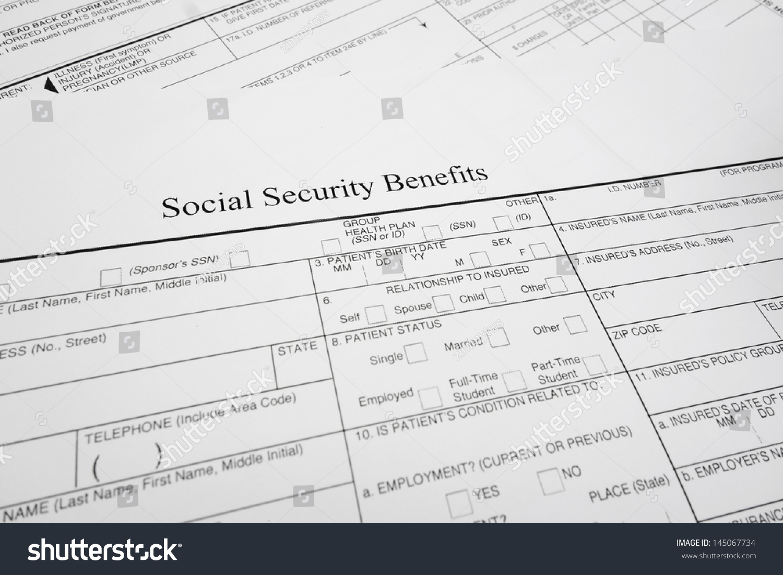 Social Security Form Ssa Gallery