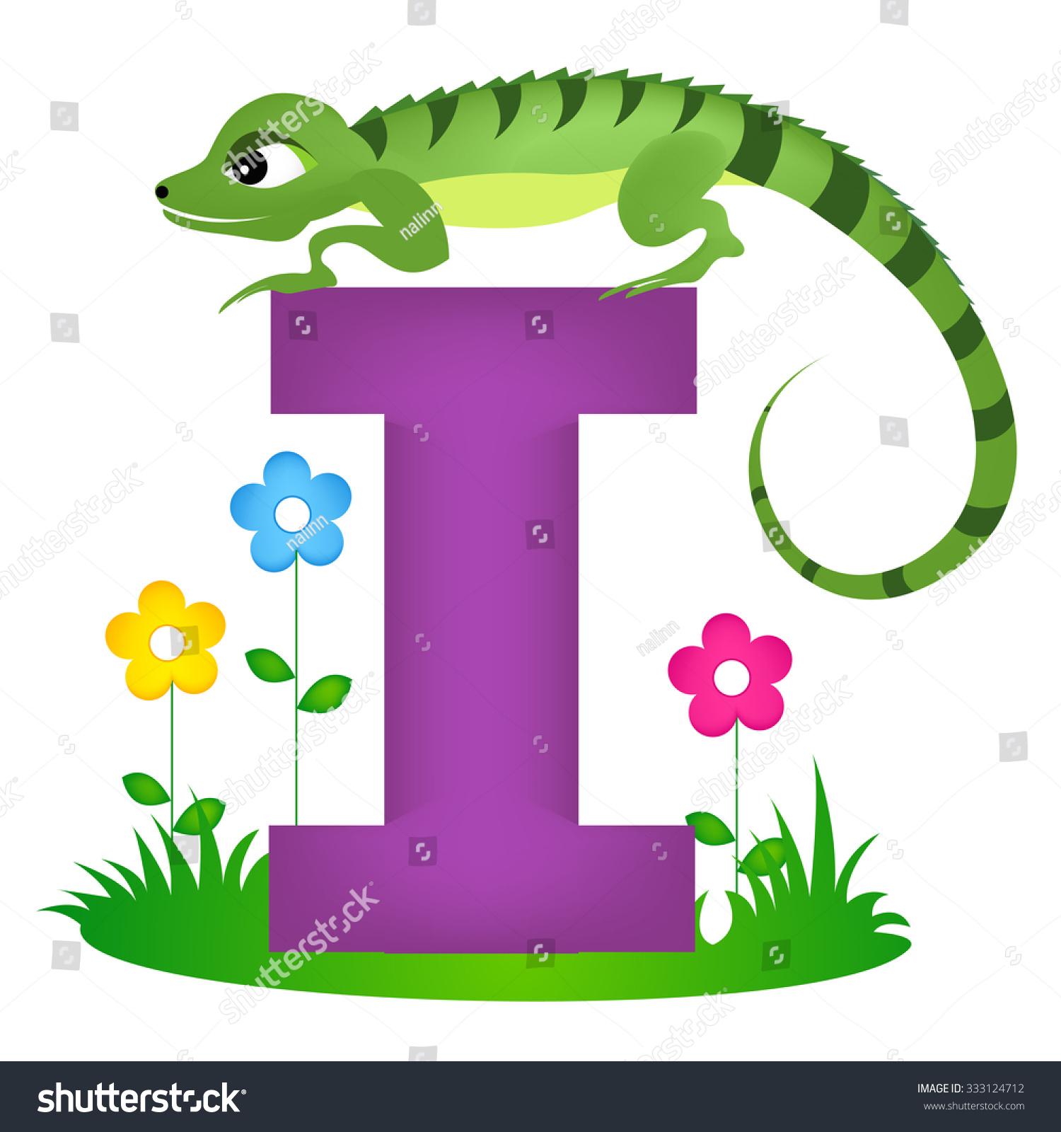 Preschool Letter L Worksheet Iguana