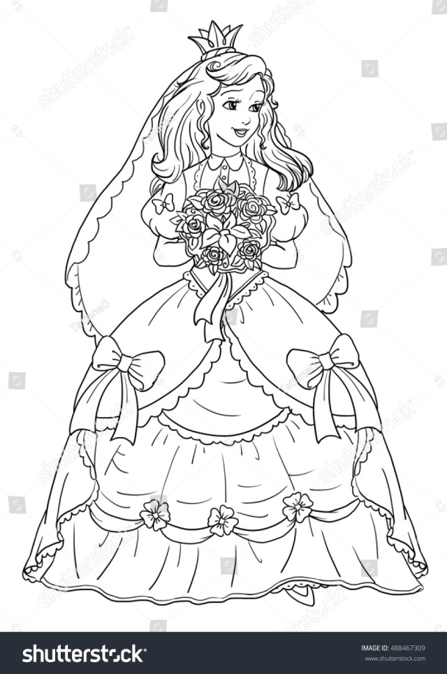 Coloring pages princess bride