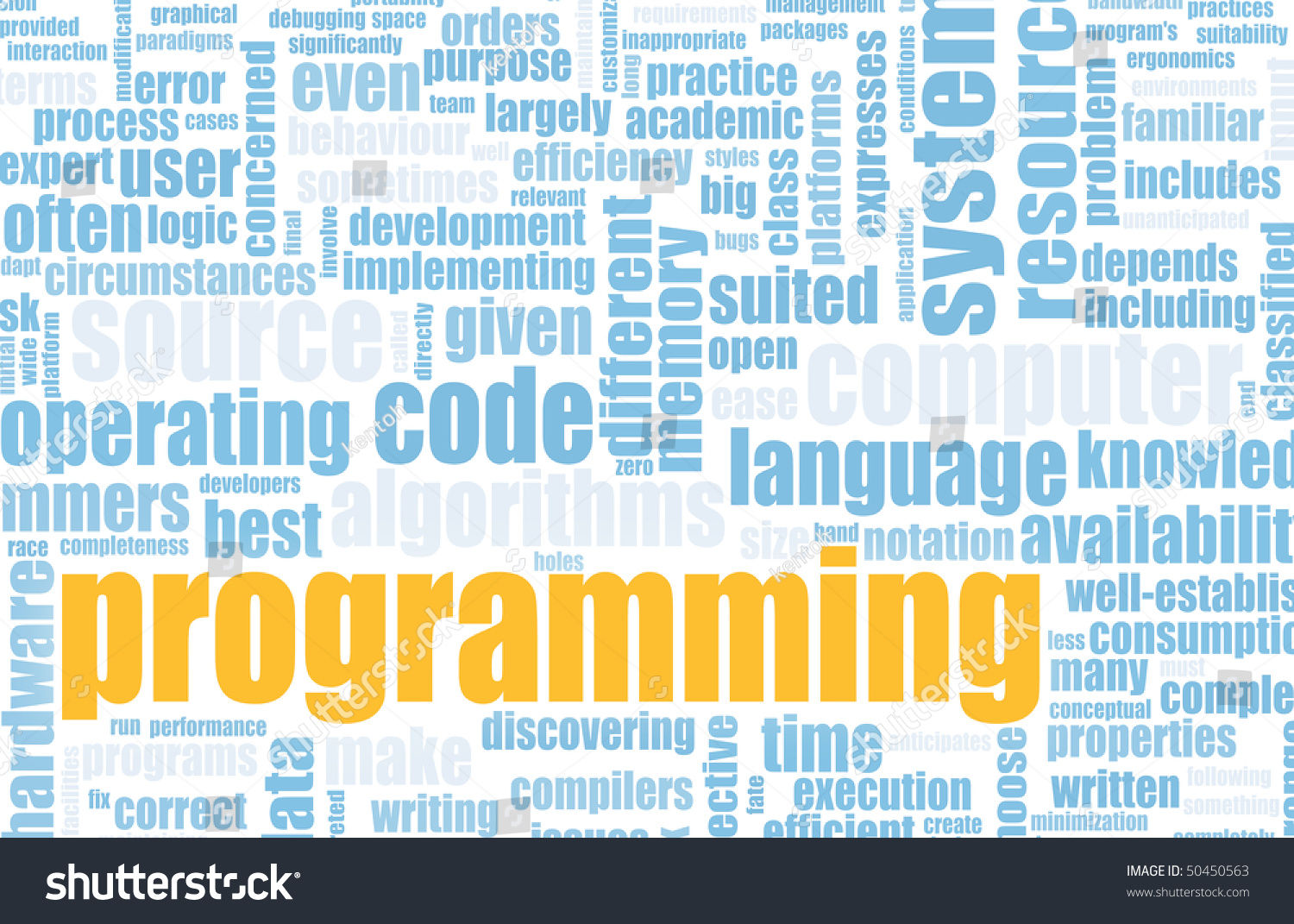 Computer Programming Code Concept As A Abstract Stock