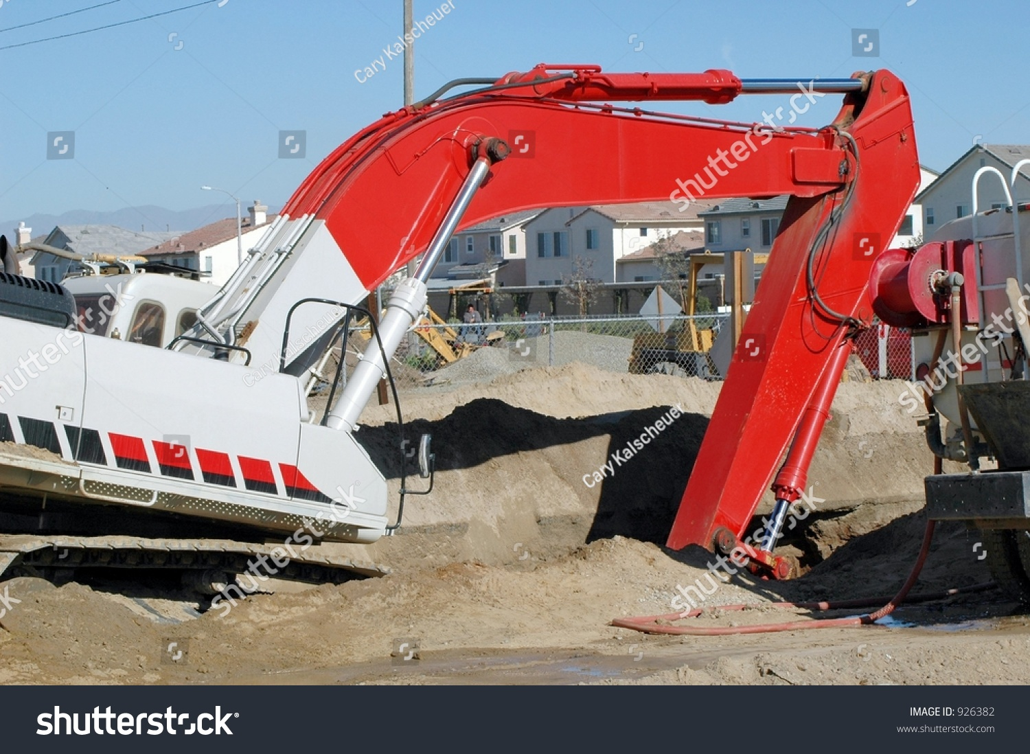 Image Trench Equipment Duty Digging Heavy