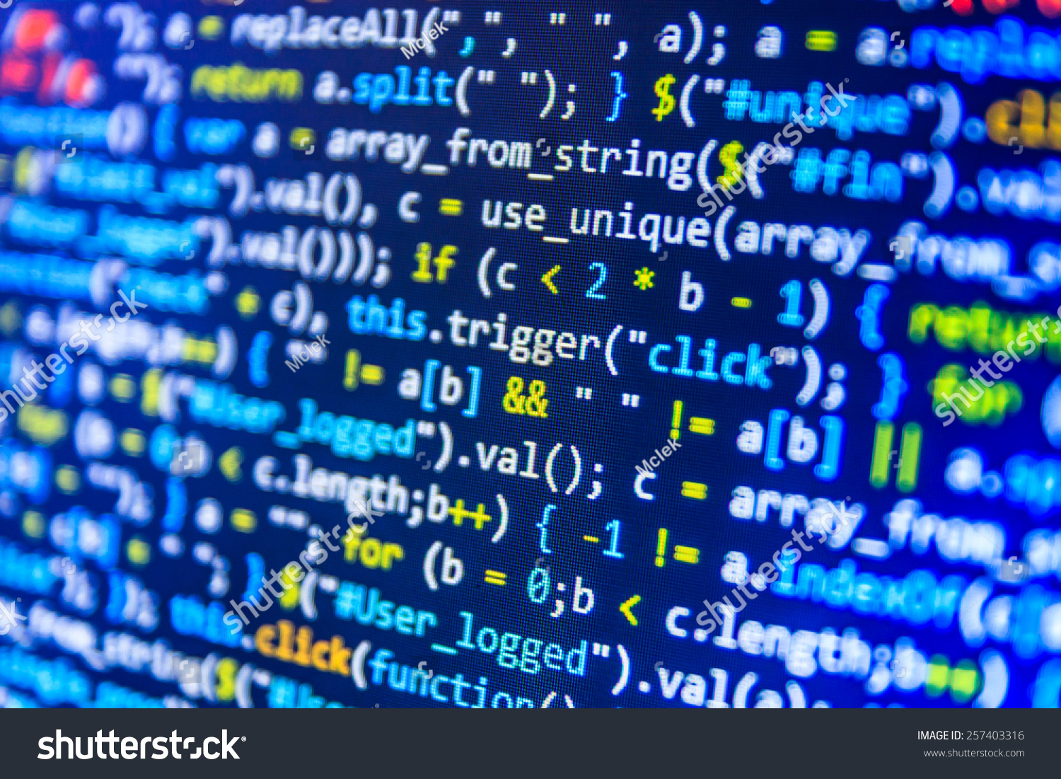 Digital Technology Background Programming Code Abstract