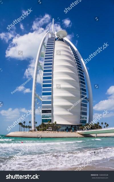 Dubai, Uae - February 03: Burj Al Arab, Considered The ...