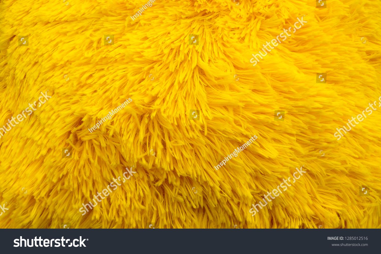 https www shutterstock com image photo fluffy texture fabric closeup pillow yellow 1285012516