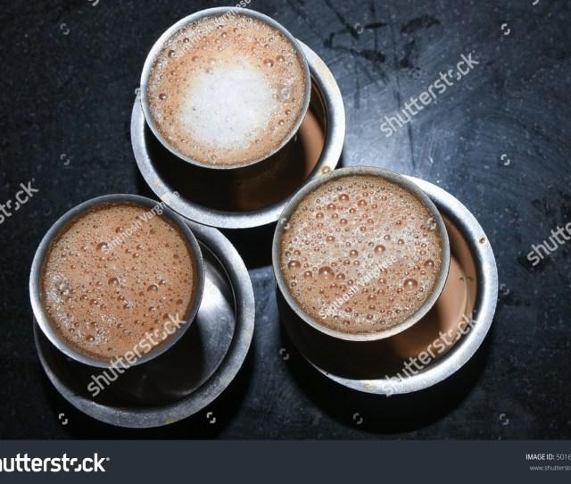 Hot Masala Tea Masala Chai Teh Tarik Kerala India Evening Tea With