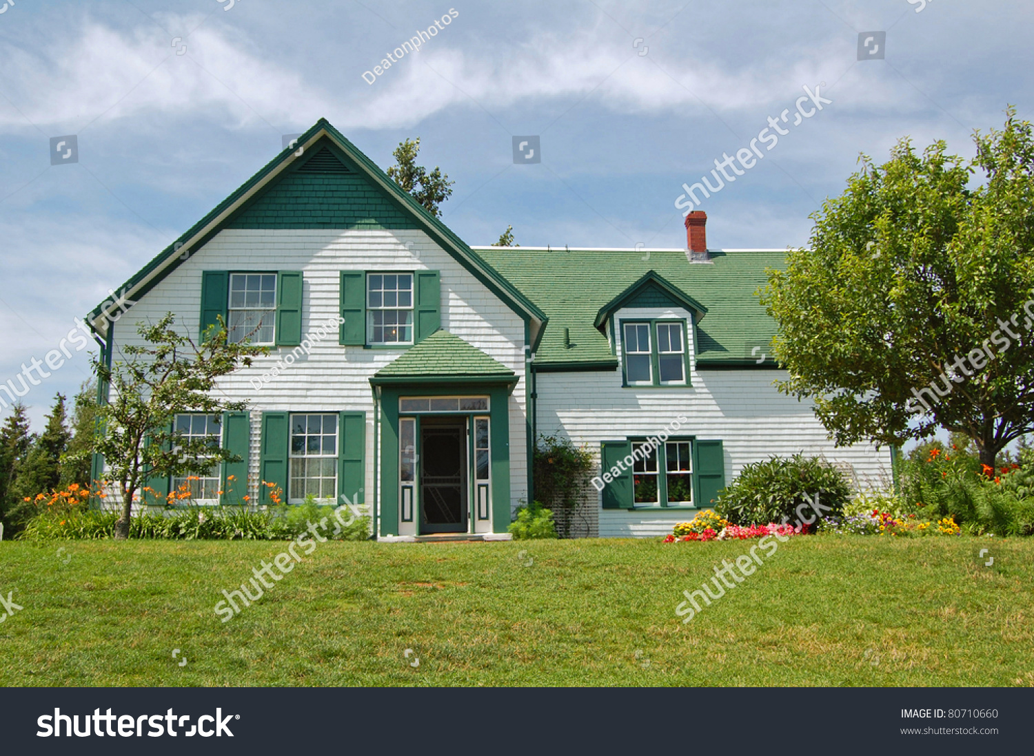 House Used Location Anne Green Gables Stock Photo