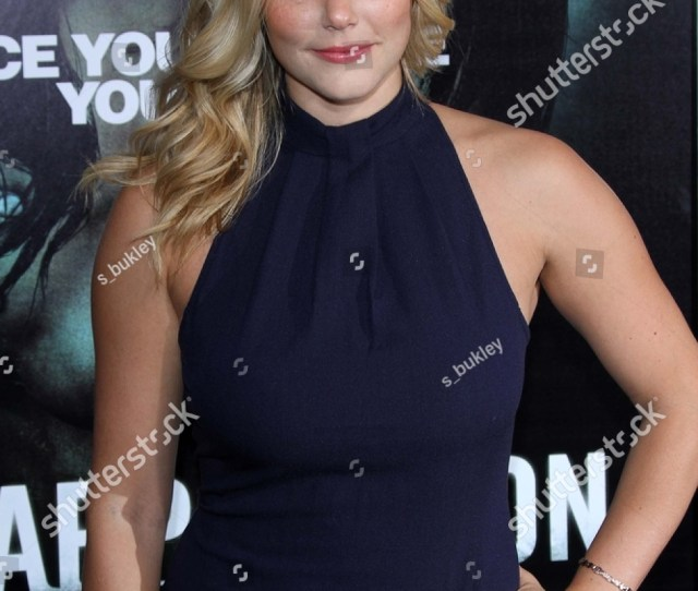 Julianna Guill At The Apparition Los Angeles Premiere Chinese Theater Hollywood