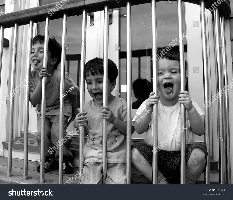 Kids In Jail Stock Photo Shutterstock