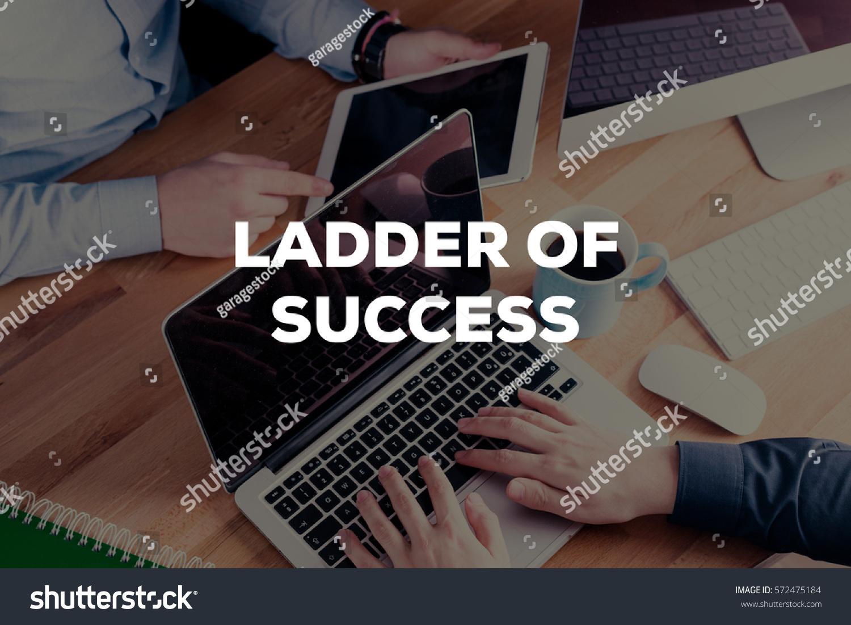 Ladder Success Concept Stock Photo