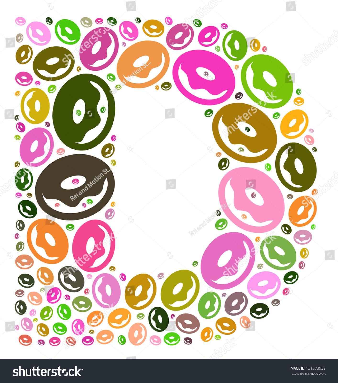 Letter D For Doughnut Stock Photo Shutterstock