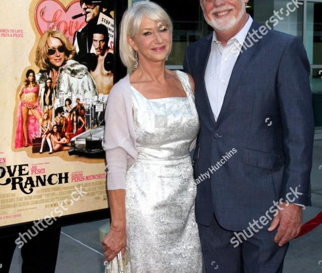 Los Angeles Jun  Helen Mirren Taylor Hackford Arrives At The Love