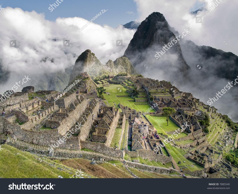 Machu Picchu Peru Stock Photo Shutterstock