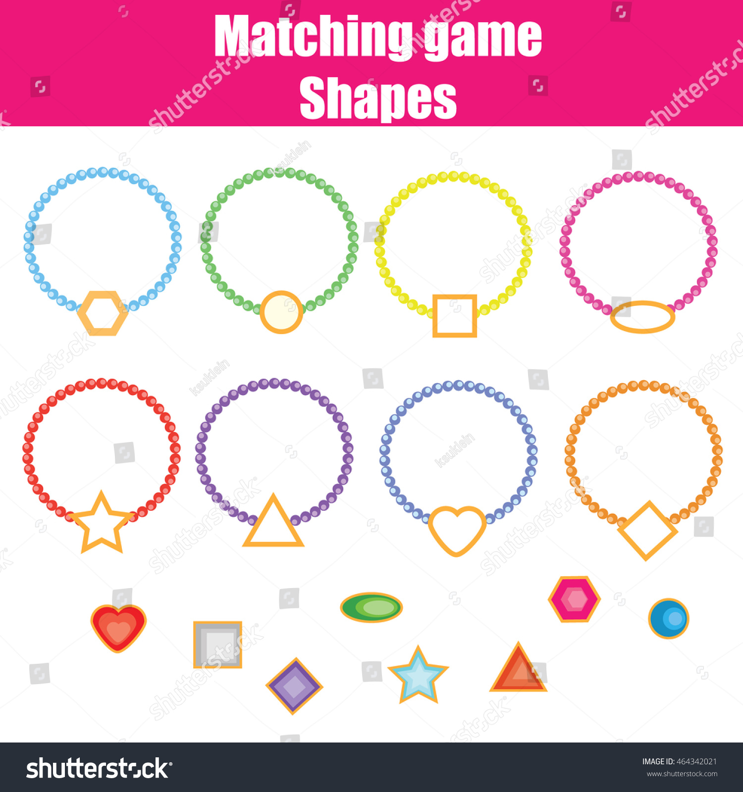 Shapes Worksheet Learning Read