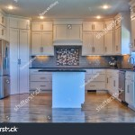 Modern Kitchen Stainless Steel Appliances Black Stock Photo Edit Now 762798316