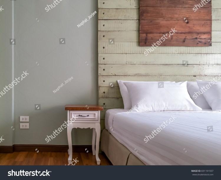 Modern Rustic Bedroom Interior Design Decoration Stock Photo Edit Now 691191937