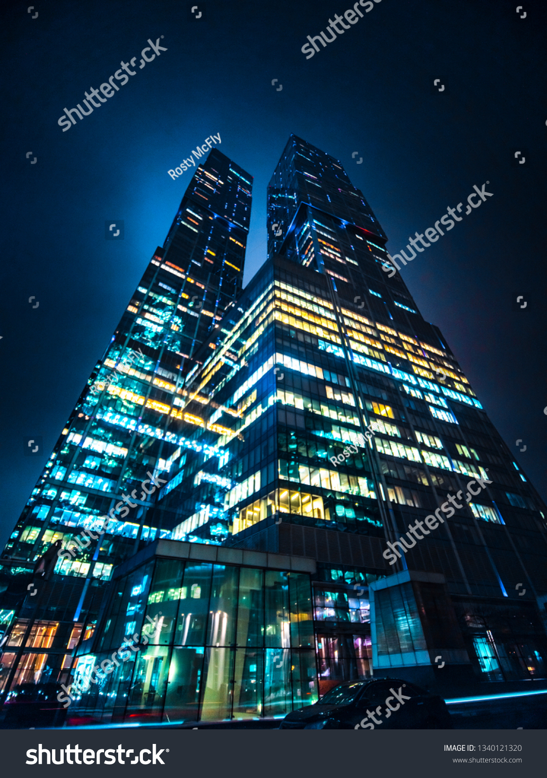 Moscow Russia 03022019 Moscowcity Tower City Stock Photo Edit Now 1340121320