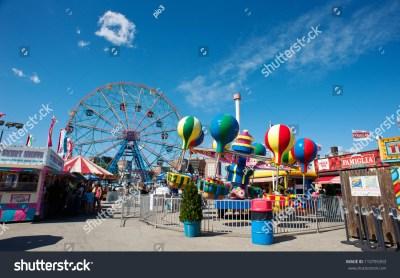 New York - June 27: Coney Island'S Wonder Wheel On June 27 ...
