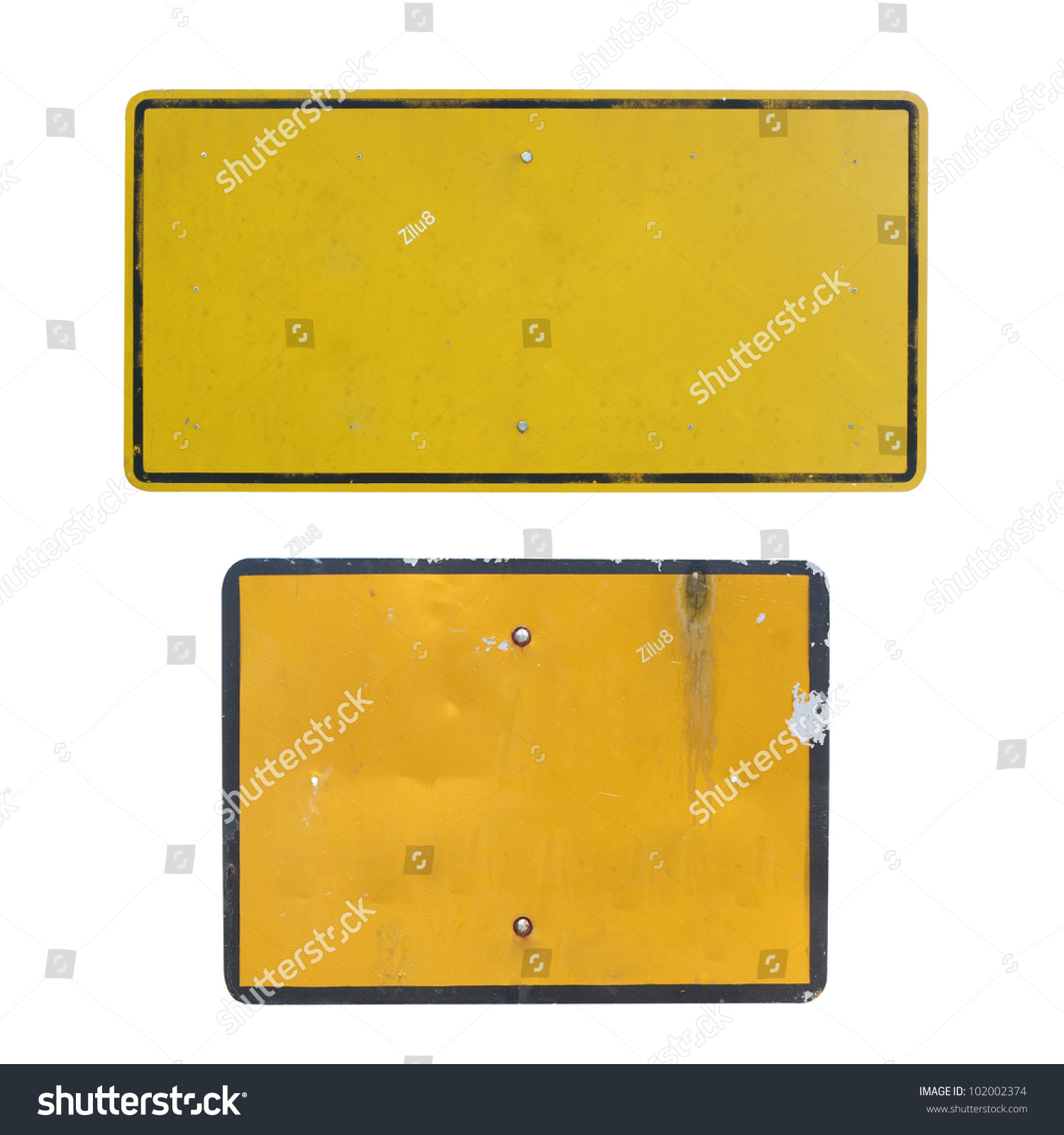 Old Blank Traffic Sign Stock Photo Shutterstock