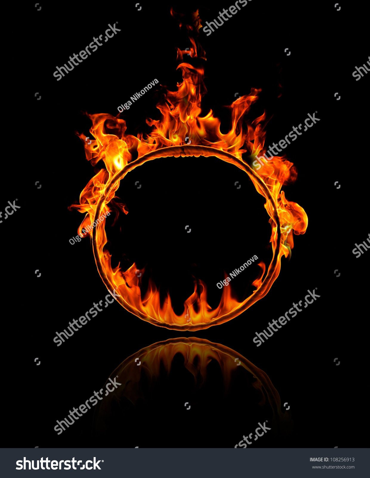 Ring Of Fire Stock Photo Shutterstock