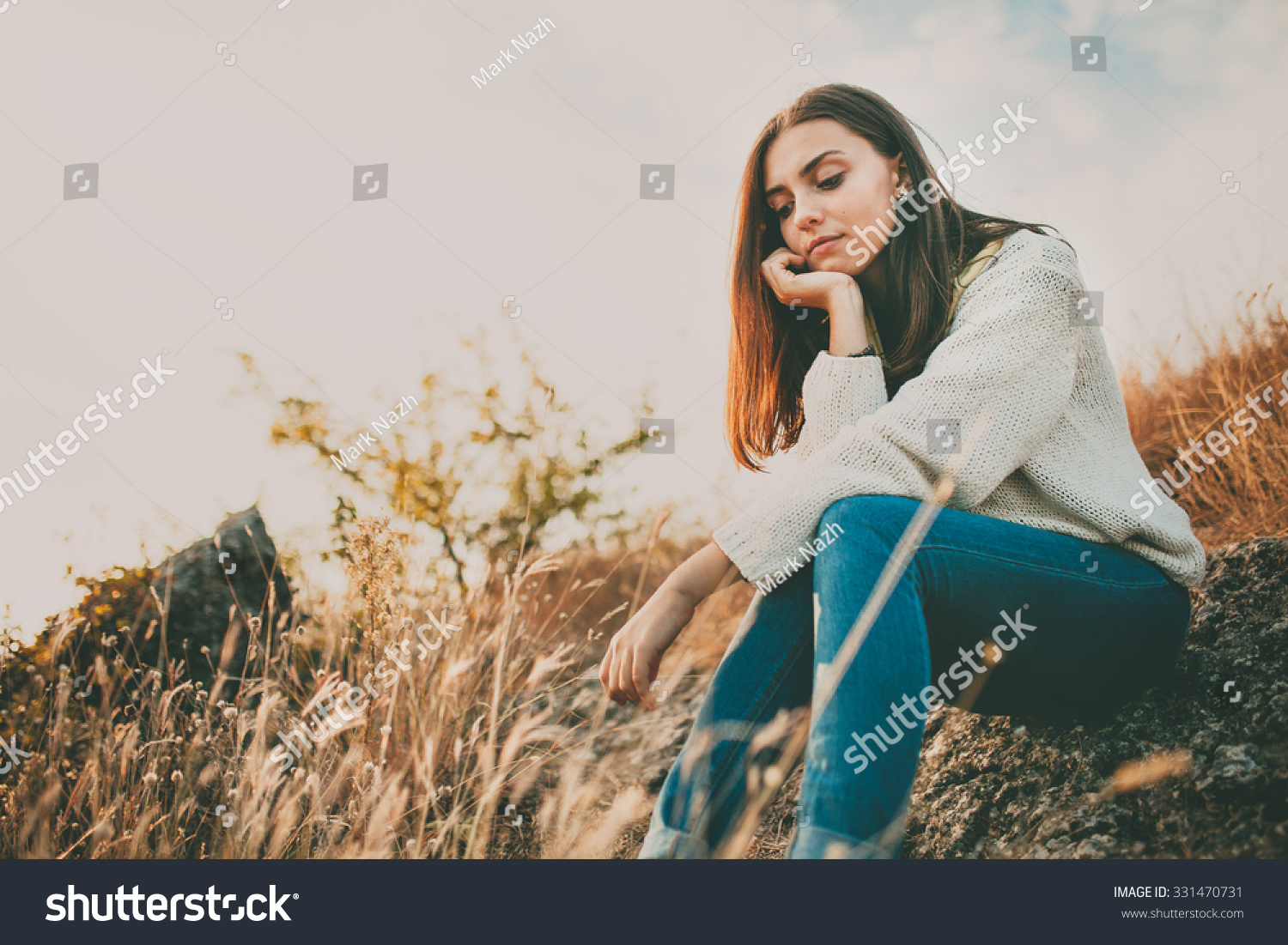 Image result for girl sitting and thinking