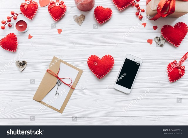 Send Sms Smartphone Write Love Letter Stock Photo (Edit Now) 22