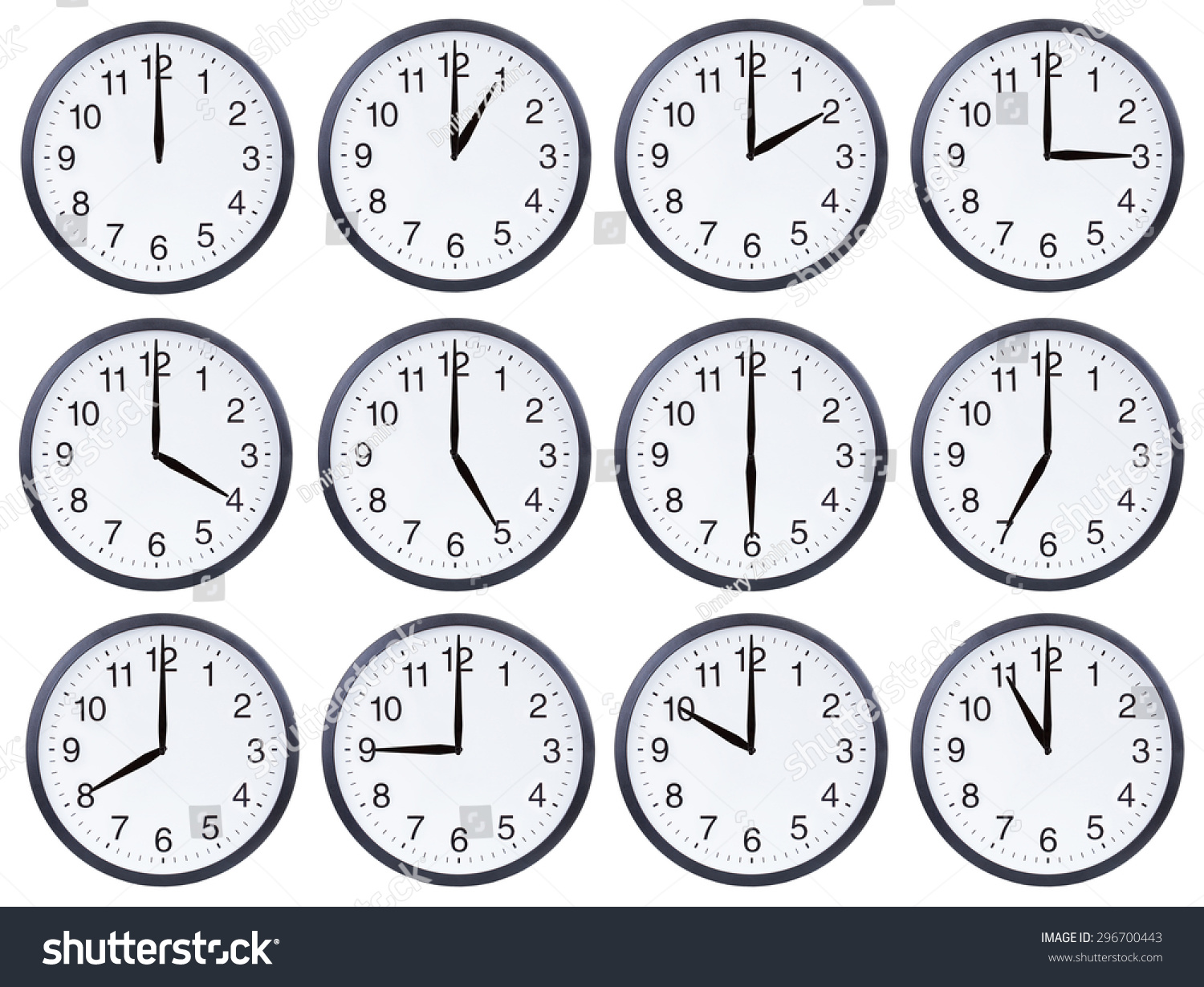 Image Of A Clock Showing Time