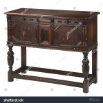 Side Board Storage Buffet Table Isolated Stock Photo Edit Now 562780552