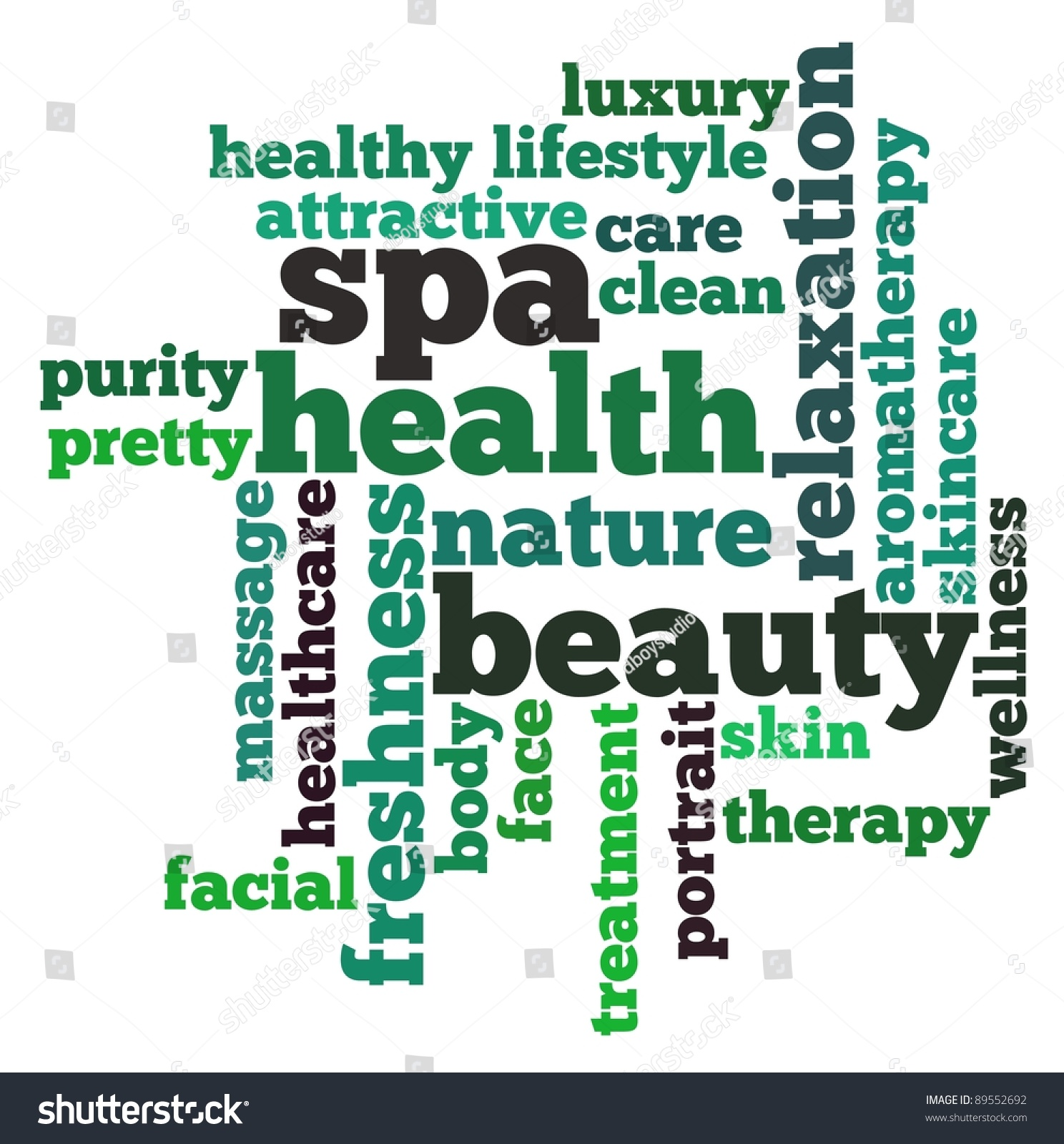 Health Background Care Words