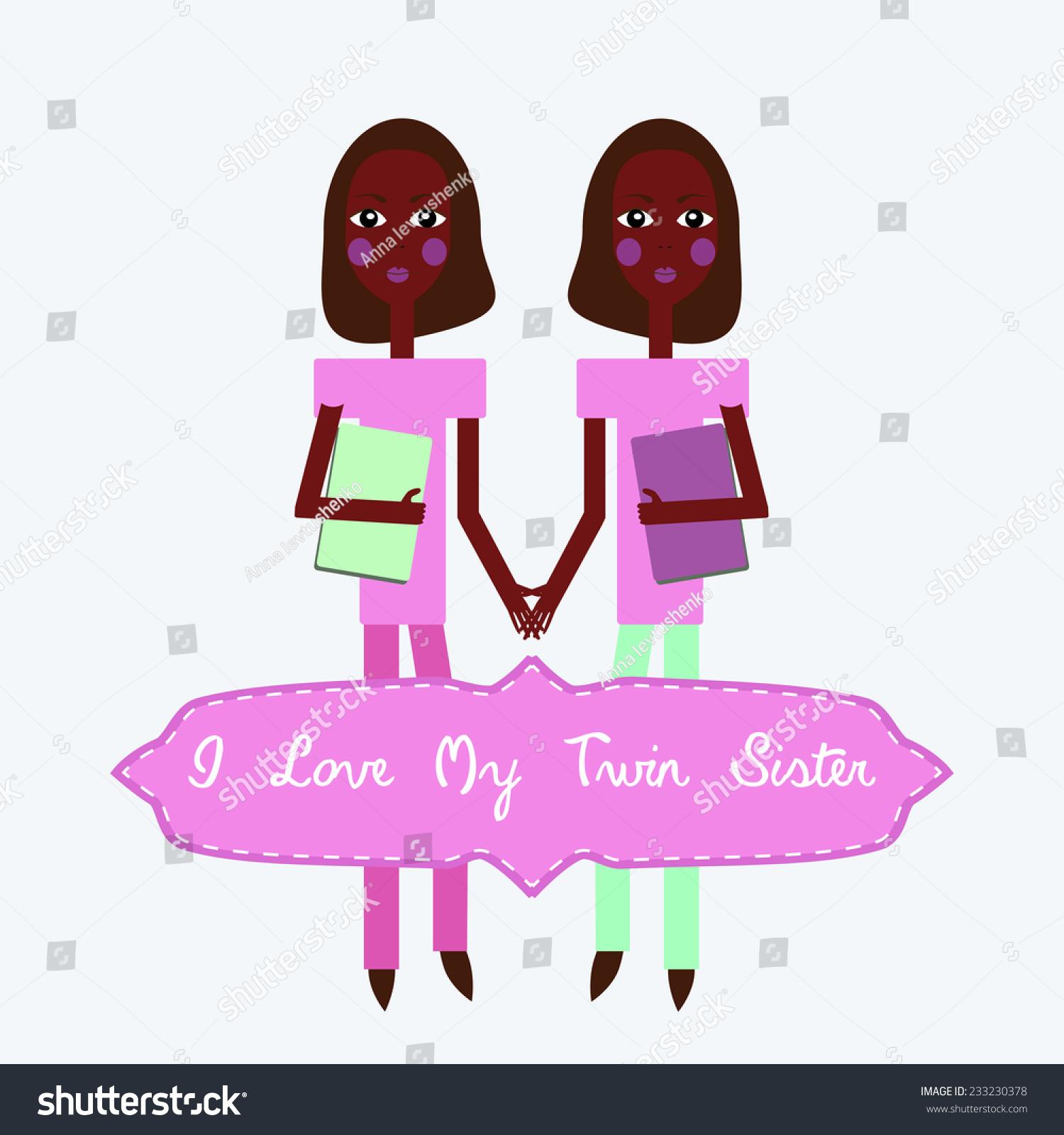 Suchen Sie Nach Twins Love My Twin Sister Happy Stockbildern In Hd Und Millionen Weiteren Lizenzfreien Stockfotos Illustrationen Und Vektorgrafiken In Der Shutterstock Kollektion Jeden Tag Werden Tausende Neue Hochwertige Bilder Hinzugefugt